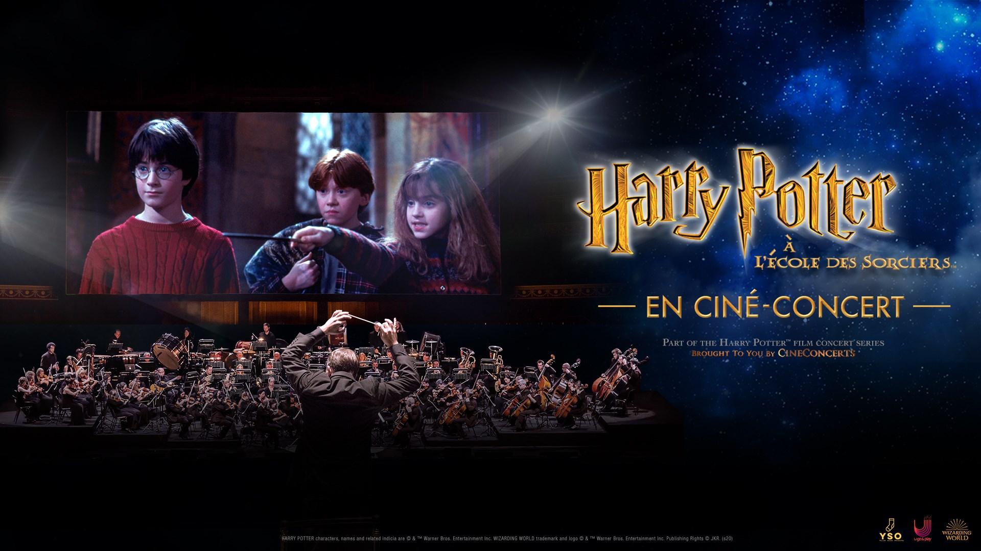 ciné concert harry potter nantes