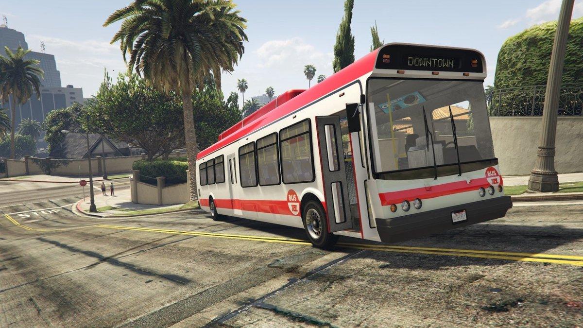 Un petit génie a recréé le réseau de bus TCL sur GTA V