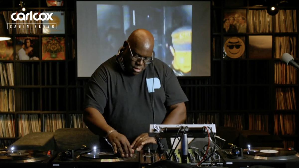 À voir : le livestream confiné spécial rave des 90's 100 % vinyles de Carl Cox