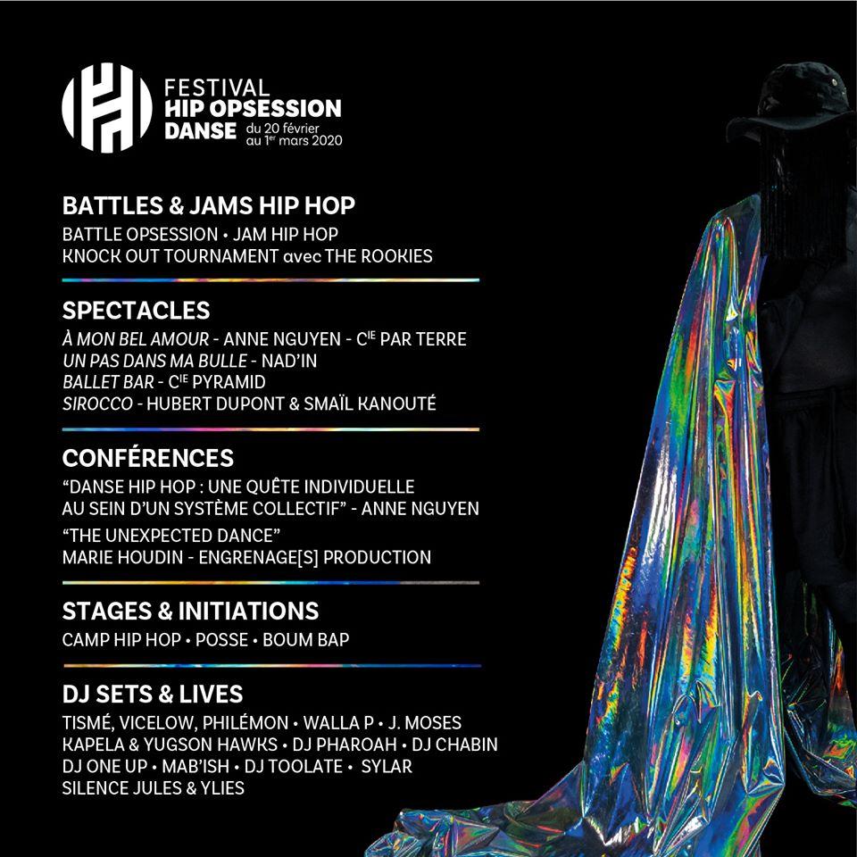 programmation festival hip opsession danse