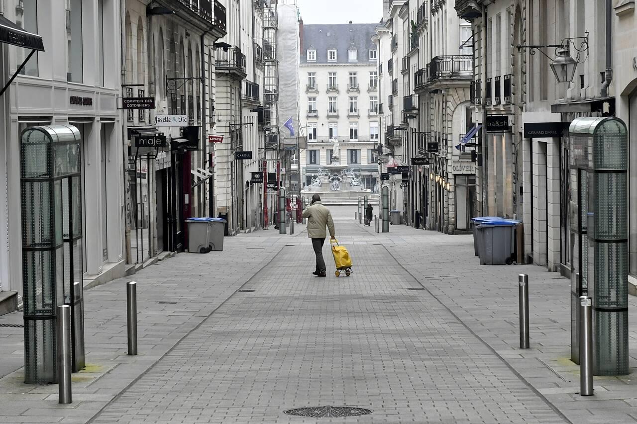 Rue crébillon nantes confinement coronavirus