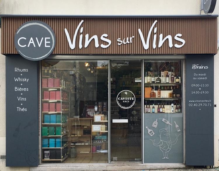 cave vins sur vins chapelle sur erdre