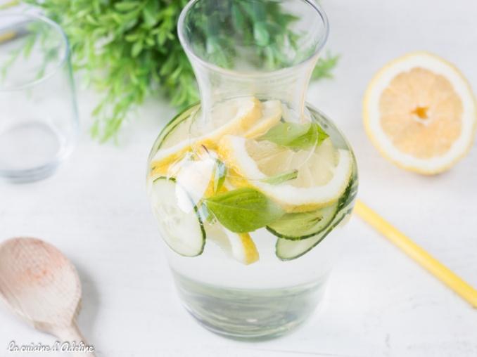 Détox water d'Adeline Cuisine