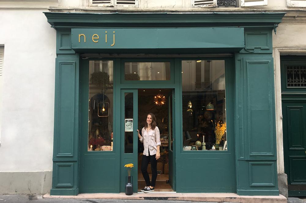Neij boutique décoration Paris