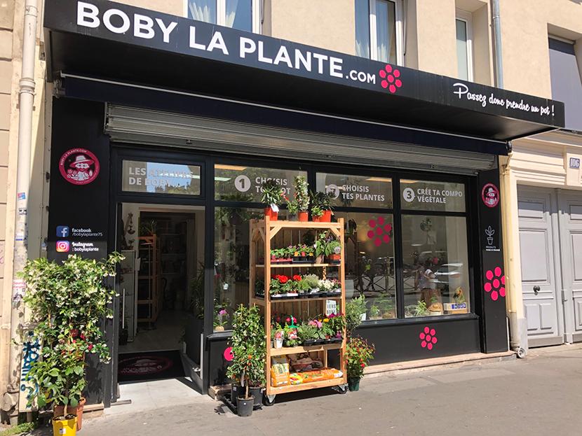 Boby la Plante boutique Paris 13