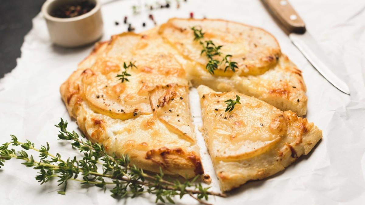 La recette de la Ch'ti Flamiche au Maroilles