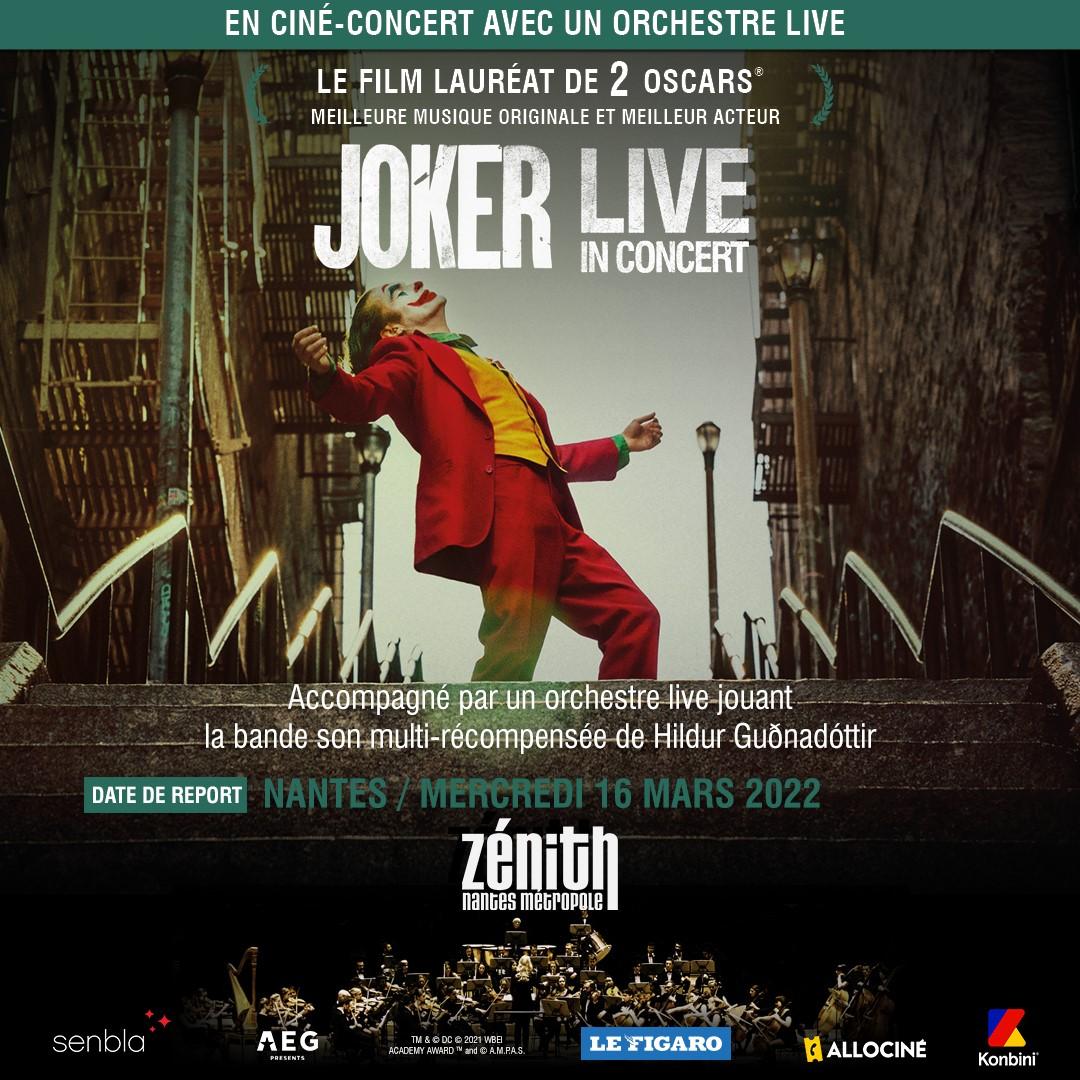 ciné concert le joker nantes