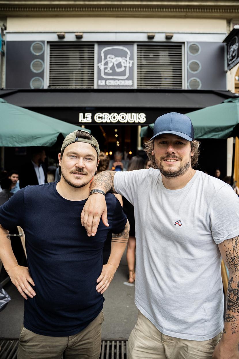 Le Croquis Bar Paris