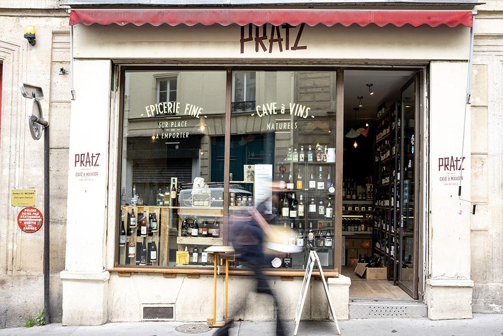pratz bar a vin paris