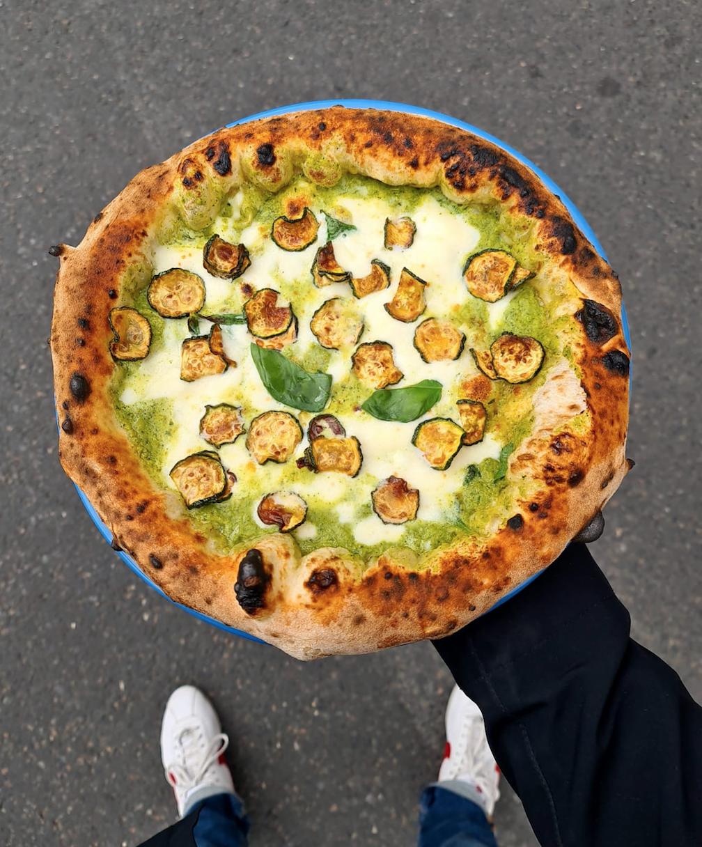 La Vittoria pizza paris
