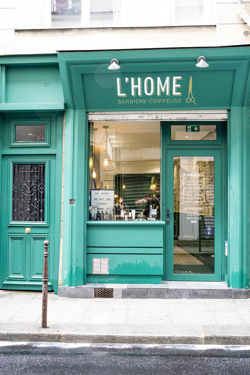 L'Home barbier coiffeur Paris 3e
