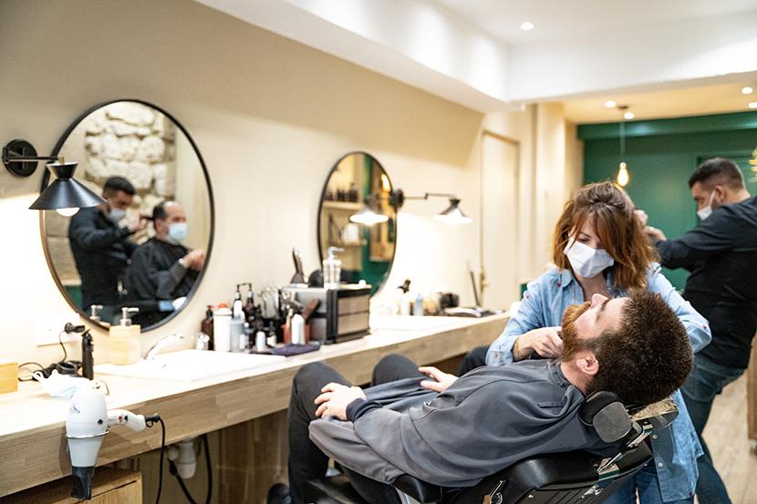 L'Home barbier coiffeur Paris 3