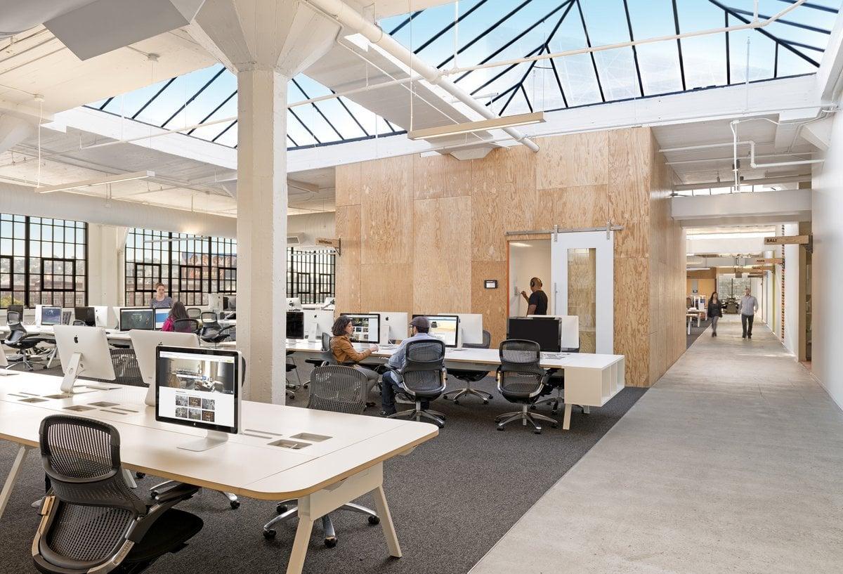 Les nouveaux bureaux de google à londres londres