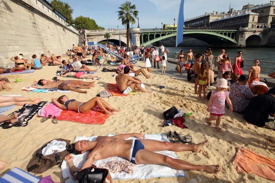 plage paris