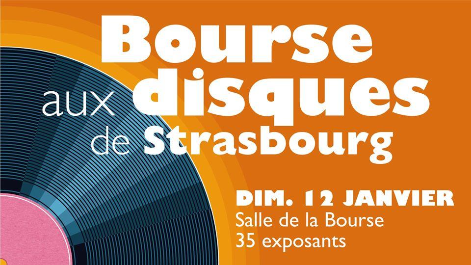 Bourse aux disques Strasbourg