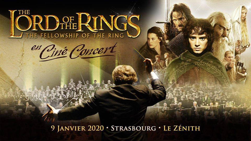 Seigneur Anneaux Concert Strasbourg