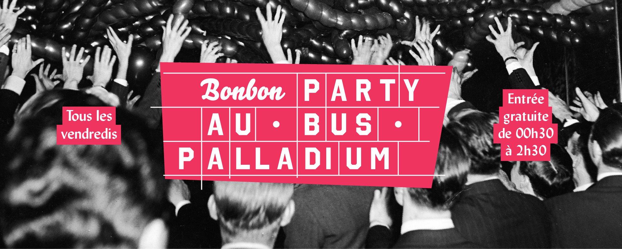 bonbon party bus palladium