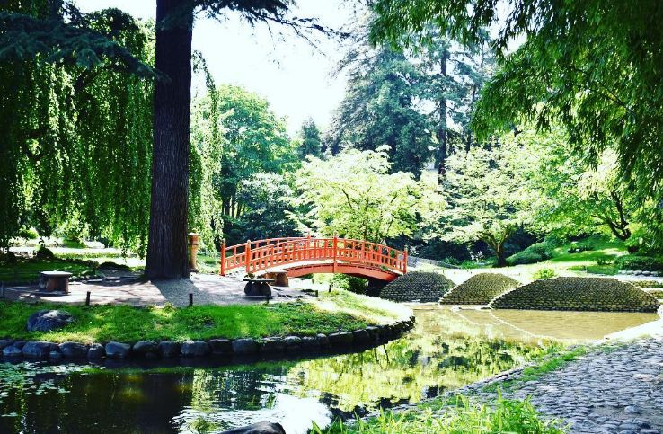 10 spots pour bronzer tranquille - Les jardins albert kahn ...