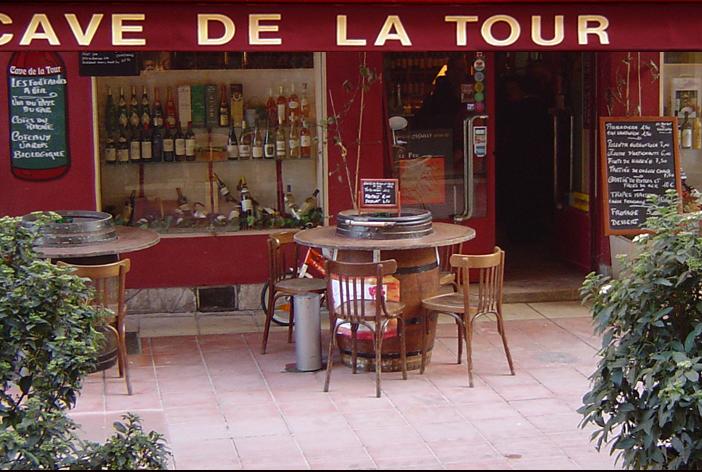 bar à vin nice cave de la tour